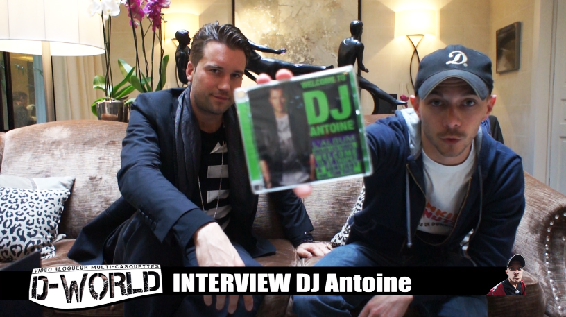 ITW de DJ Antoine by D-World