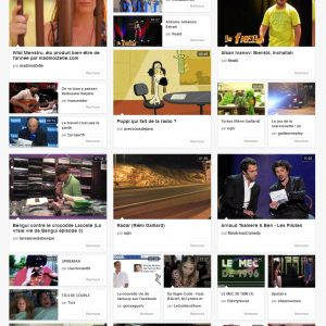 Dailymotion : nouvelle mise en page