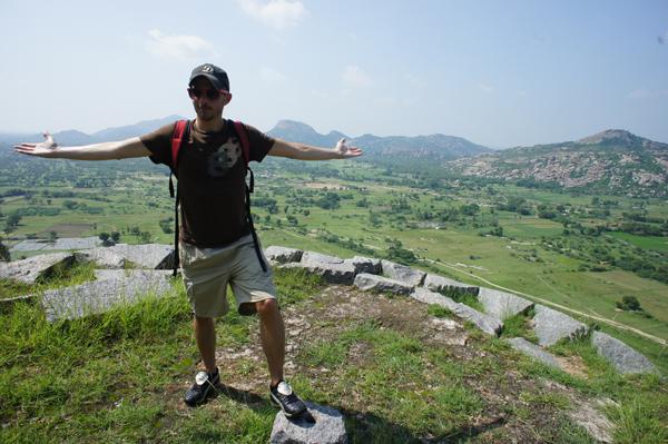 Sur les hauteurs de Gingee