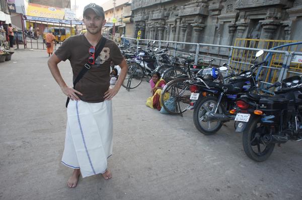 Visite du temple de Tiruvannamalai