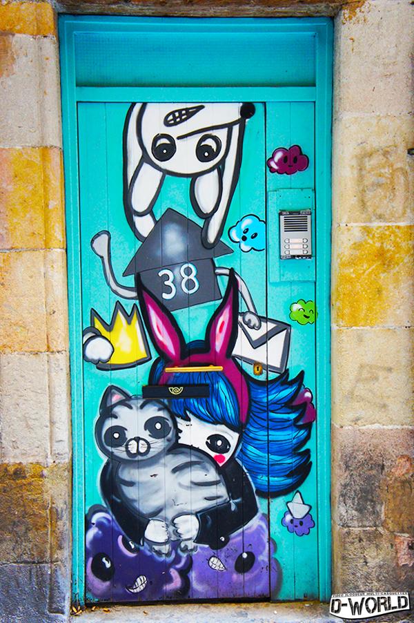 Photos Street Art Barcelone (Quartier Gotico)