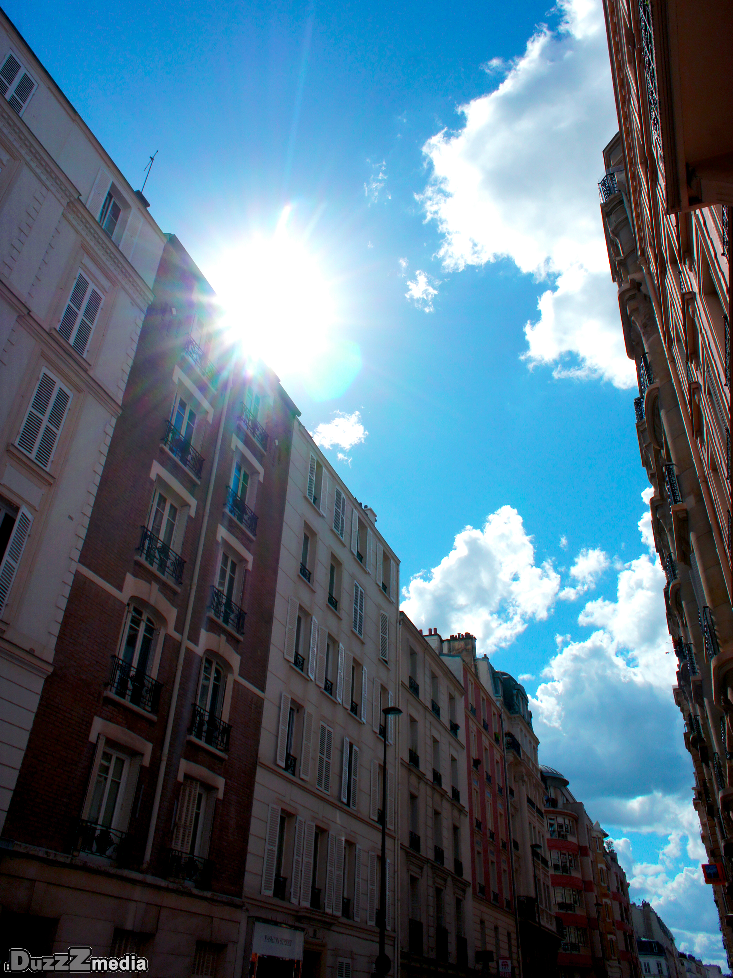 Photo sky in paris by david couturier