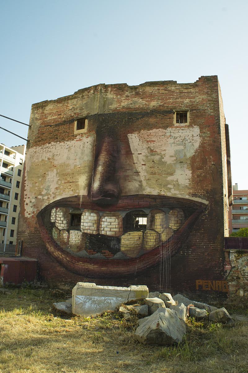 street art barcelone poblenou