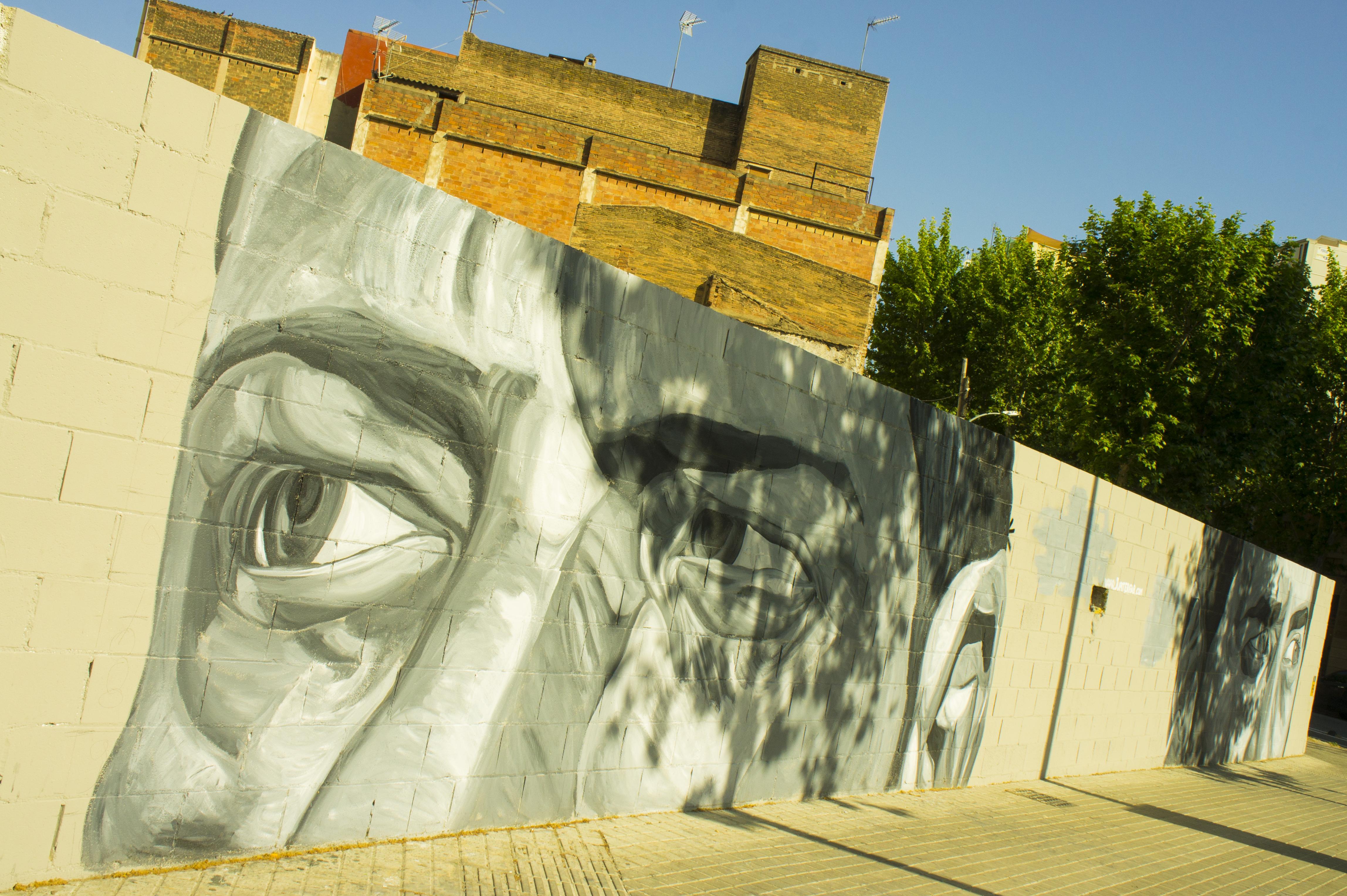 street art barcelone poblenou jupiter fab
