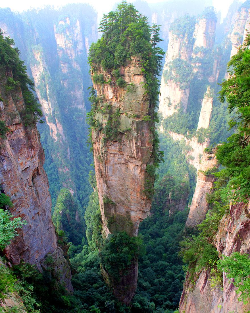 montagnes-tianzi-chine