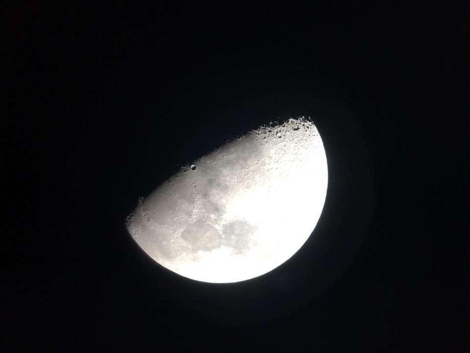 super lune au chili