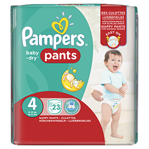 couhes-pampers Baby-Dry Pants