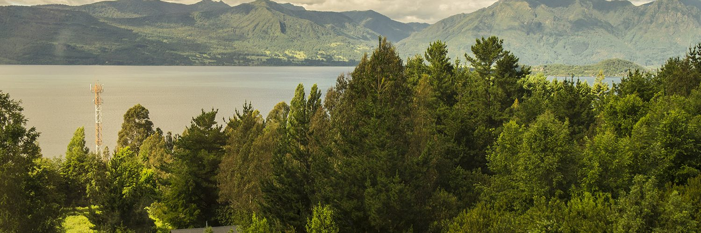 lac villarica chili
