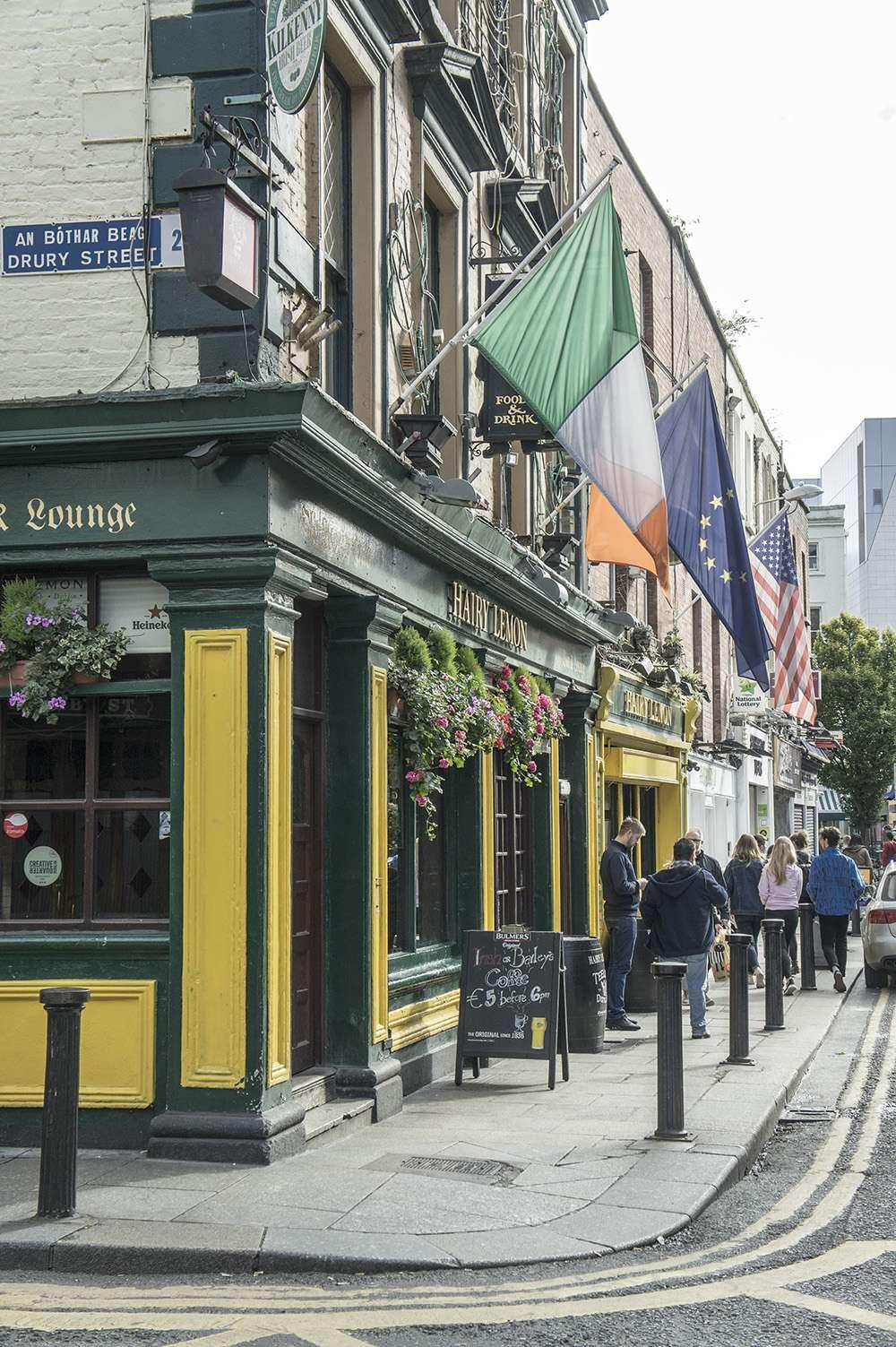 pub irlandais à dublin
