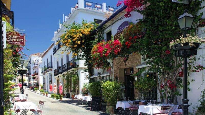 Vieille ville de Marbella