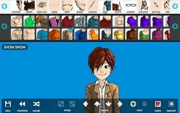 Créer un avatar manga