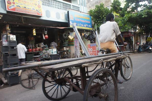 Dans les rues de Chennai