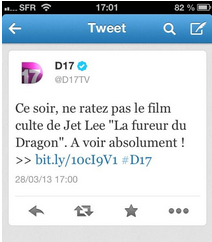 bourde du community manager de D17