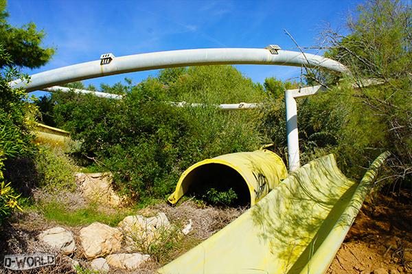 Destination Urbex #1 : l'aquaparc abandonné de Sitges