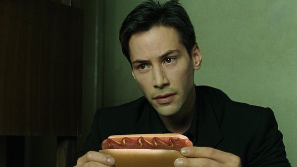 keanu reeves aime les hot dogs