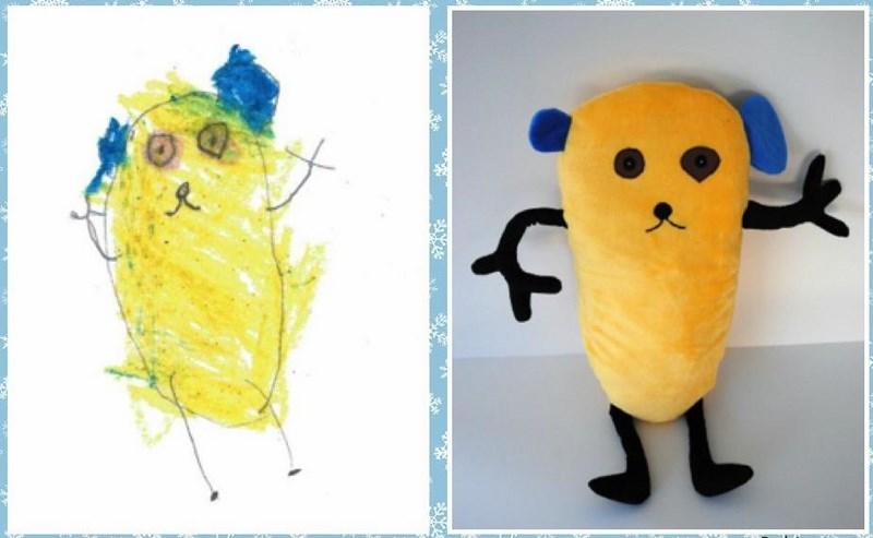 Budsies : d'un dessin a une vraie peluche