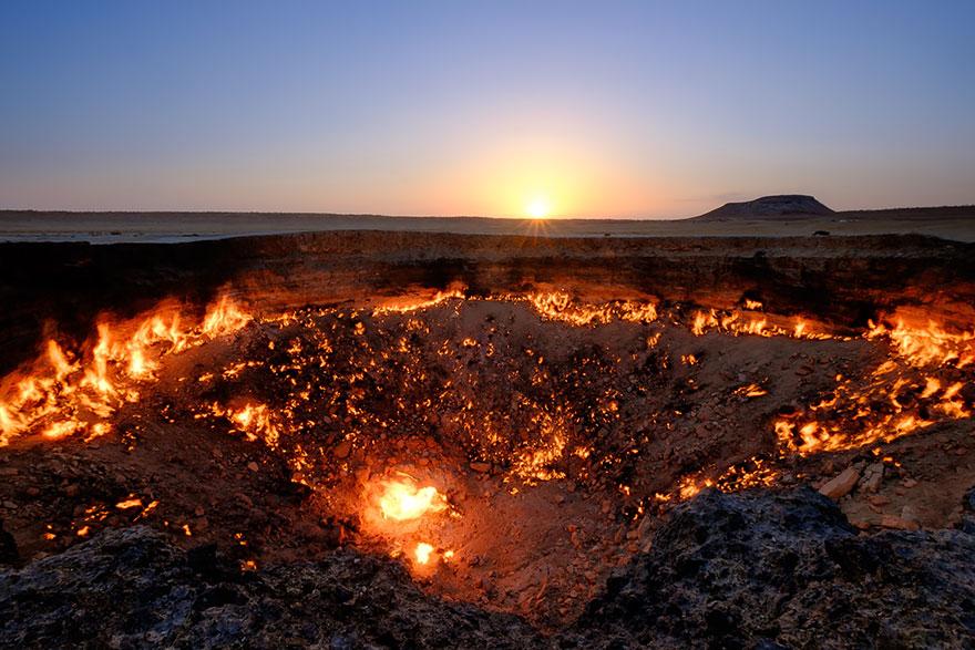 portes de l'enfer turkmenistan