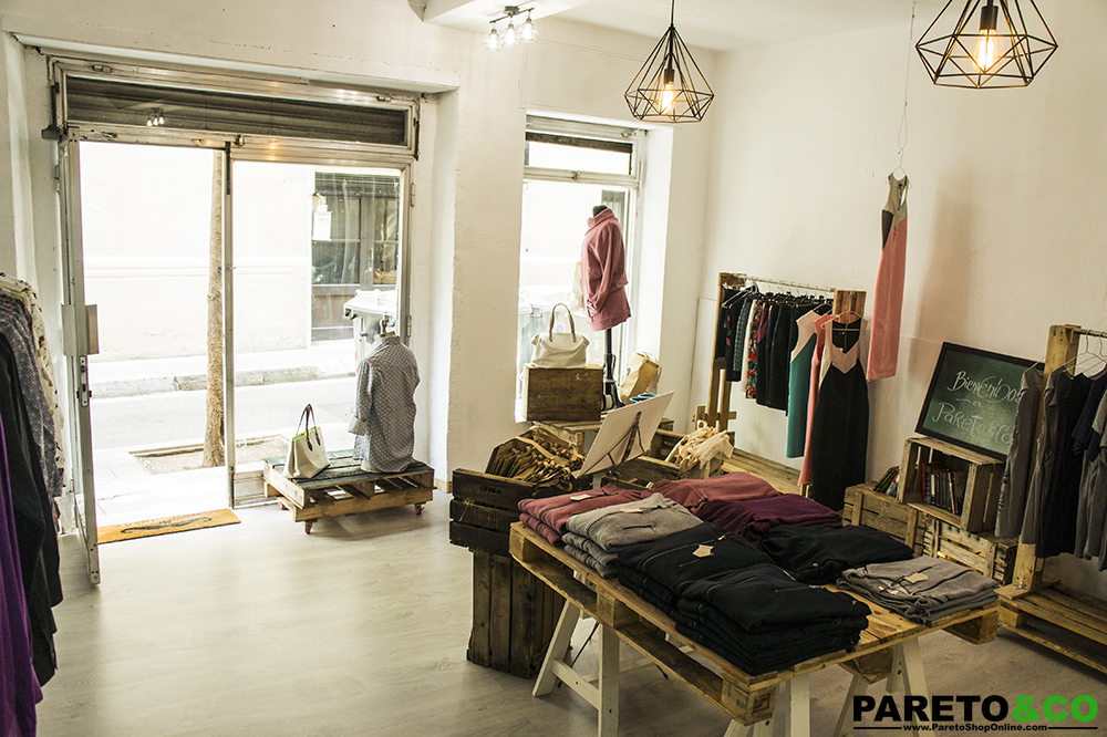 pareto and co popup store barcelona