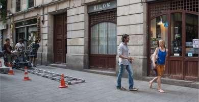 tournage barcelone