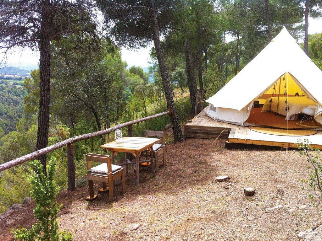 glamping espagne barcelone
