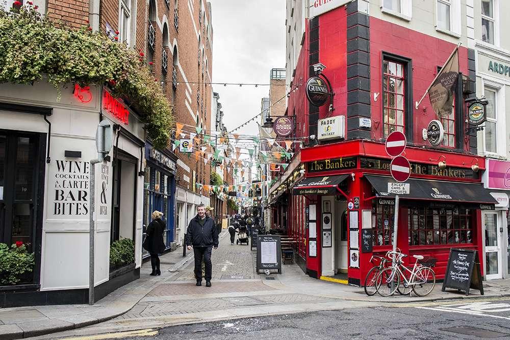 rue de dublin irlande