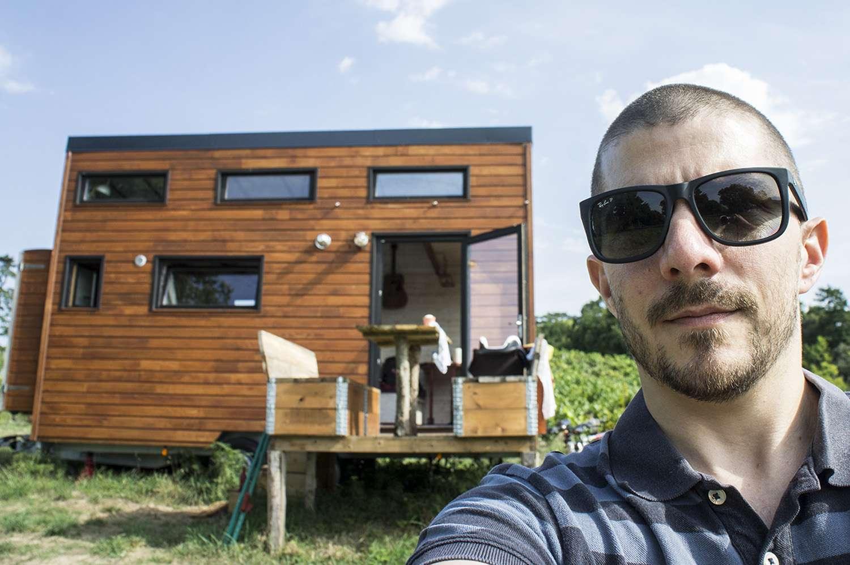 weekend insolite nantes d couvrez la tiny house les abers. Black Bedroom Furniture Sets. Home Design Ideas