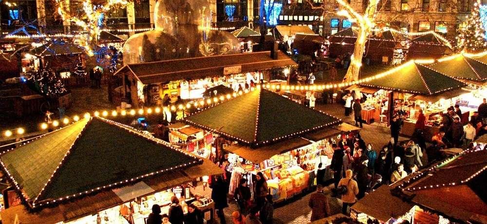 Marché de Noel de Barcelone (Crédit photo Equinox)