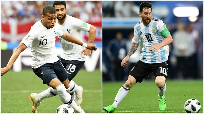 foot messi mbappe