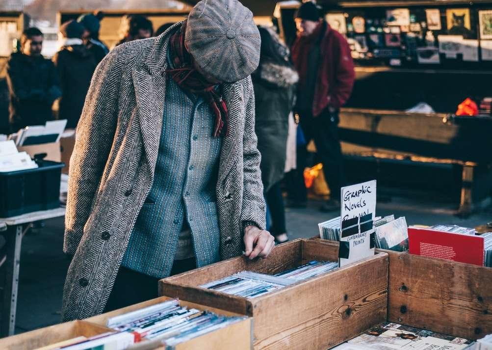 stand de marché