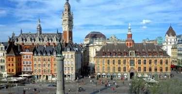 La célèbre Grand'Place de Lille
