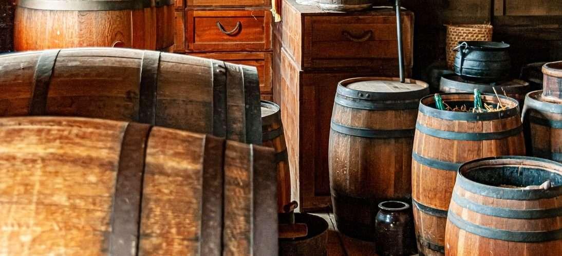 barrils de whisky